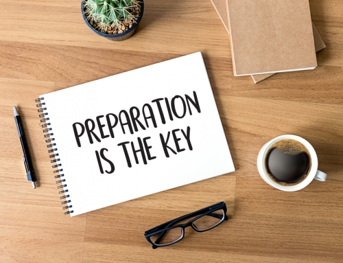 The time for preparation