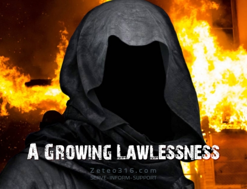 The days of lawlessness