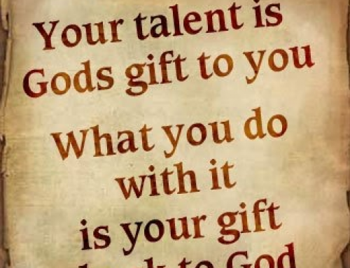 Redeem your talents
